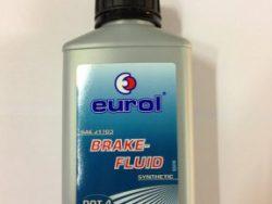 Eurol remvloeistof DOT 4