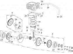 Cilinder SMC Jumbo 300