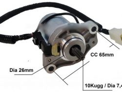 Startmotor SMC Mini 50